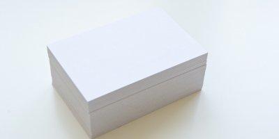 Qual a gramatura ideal para imprimir Cartão de Visita?