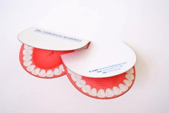 Cartão para dentistas e consultórios